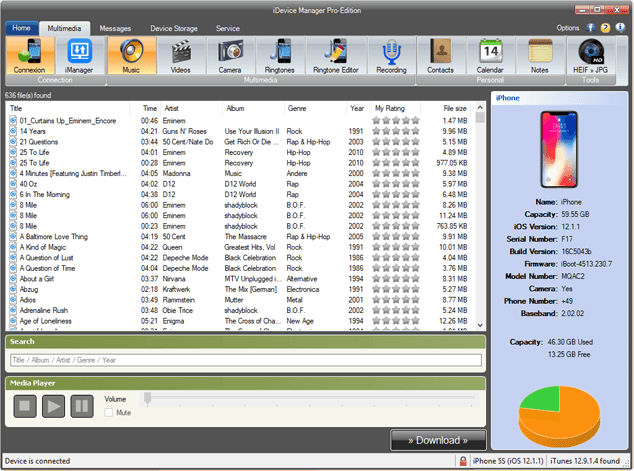 iDevice Manager (former iPhone Explorer) - Download - Software4u