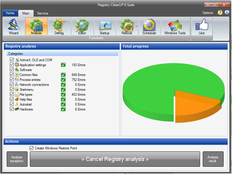 Registry CleanUP Suite 6.3.0.0 full